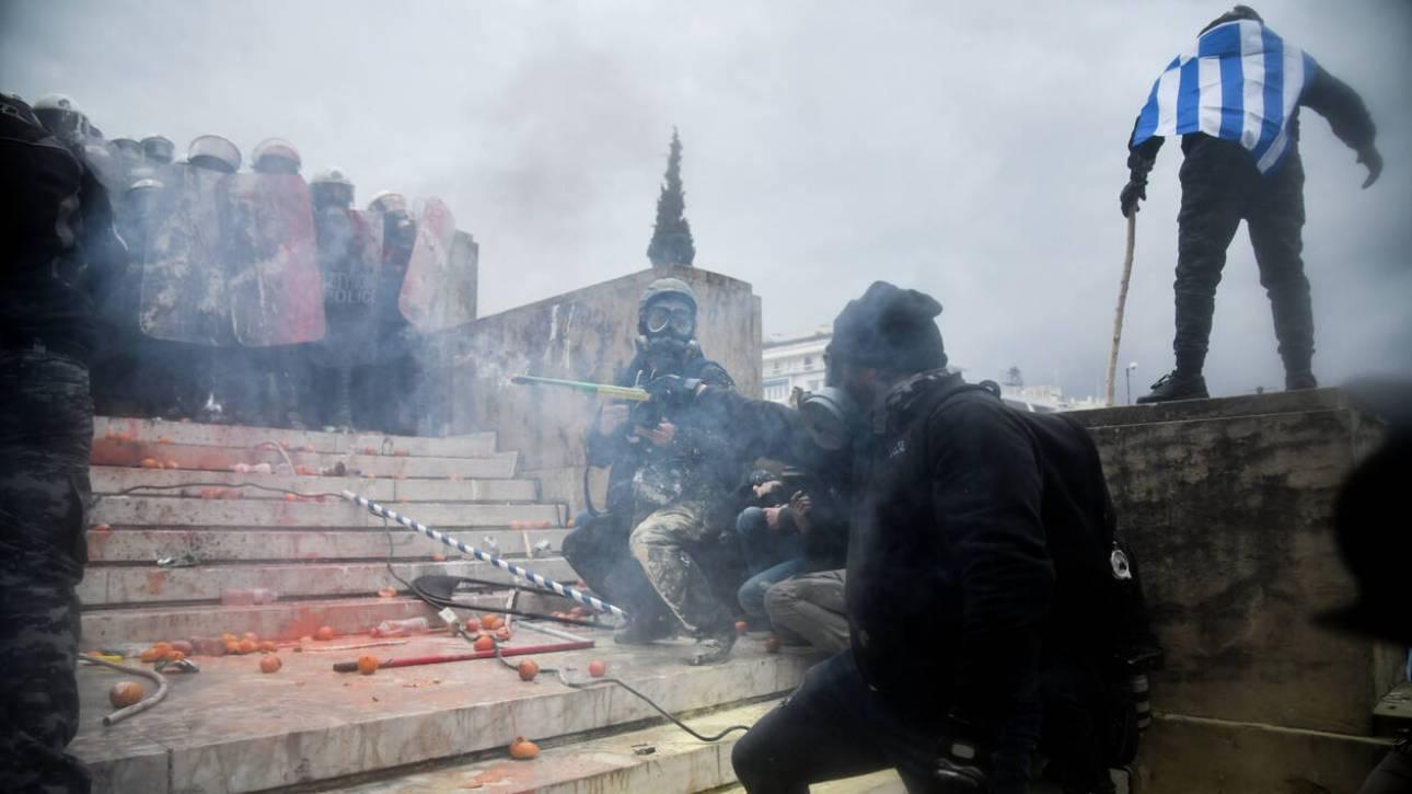 Συμφωνία των Πρεσπών: Στη φυλακή ο 27χρονος για τα επεισόδια στο συλλαλητήριο