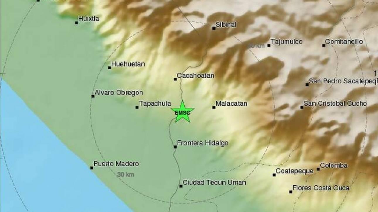 Ισχυρός σεισμός 6,6 Ρίχτερ στο Μεξικό