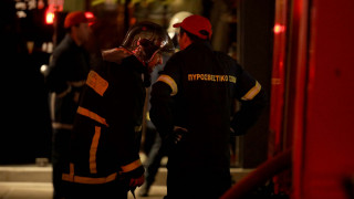Κοζάνη: Λεωφορείο των ΚΤΕΛ τυλίχθηκε στις φλόγες εν κινήσει