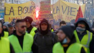 «Κίτρινα γιλέκα»: Η μεγάλη «πορεία των τραυματιών» κατά της αστυνομικής βίας