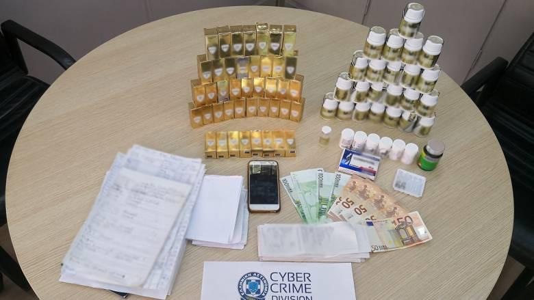 Πουλούσαν επικίνδυνα για την υγεία αναβολικά μέσω social media - Δύο συλλήψεις