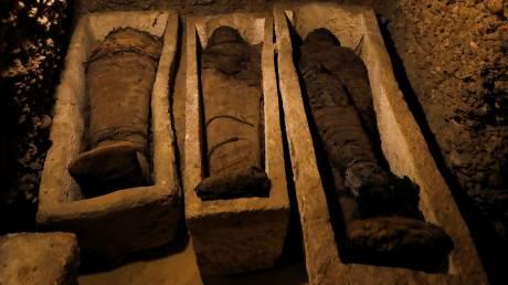 Σπουδαία αρχαιολογική ανακάλυψη: Βρέθηκαν μούμιες άνω των 2000 ετών στην Αίγυπτο
