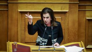 Απασφάλισε η Μεγαλοοικονόμου: Ο Τσίπρας είναι λεβεντιά, οι άλλοι κουραμπιέδες