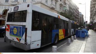 Θεσσαλονίκη: Τέσσερα λεωφορεία του ΟΑΣΘ «έμειναν» ταυτόχρονα στο ίδιο σημείο!