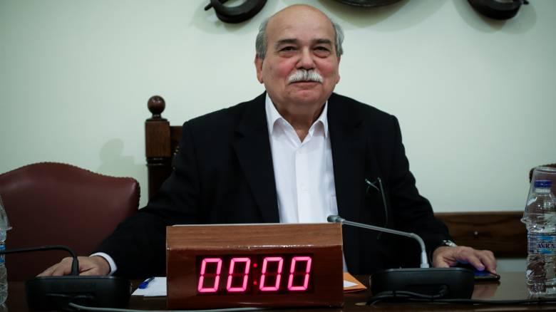 Βούτσης: Η συνεδρίαση για το ρόλο των κομμάτων δε συνιστά αλλαγή κανονισμού