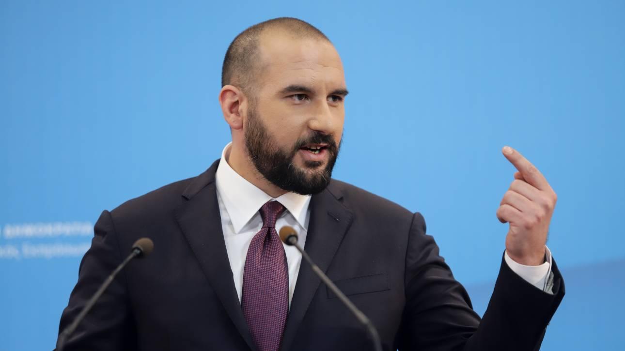 Τζανακόπουλος: Δεδομένη η σταθερότητα της κυβέρνησης έως τον Οκτώβριο