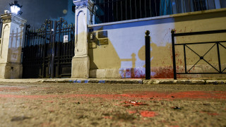 Το ΥΠΕΞ καταδικάζει την επίθεση του Ρουβίκωνα στην πρεσβεία της Ιταλίας