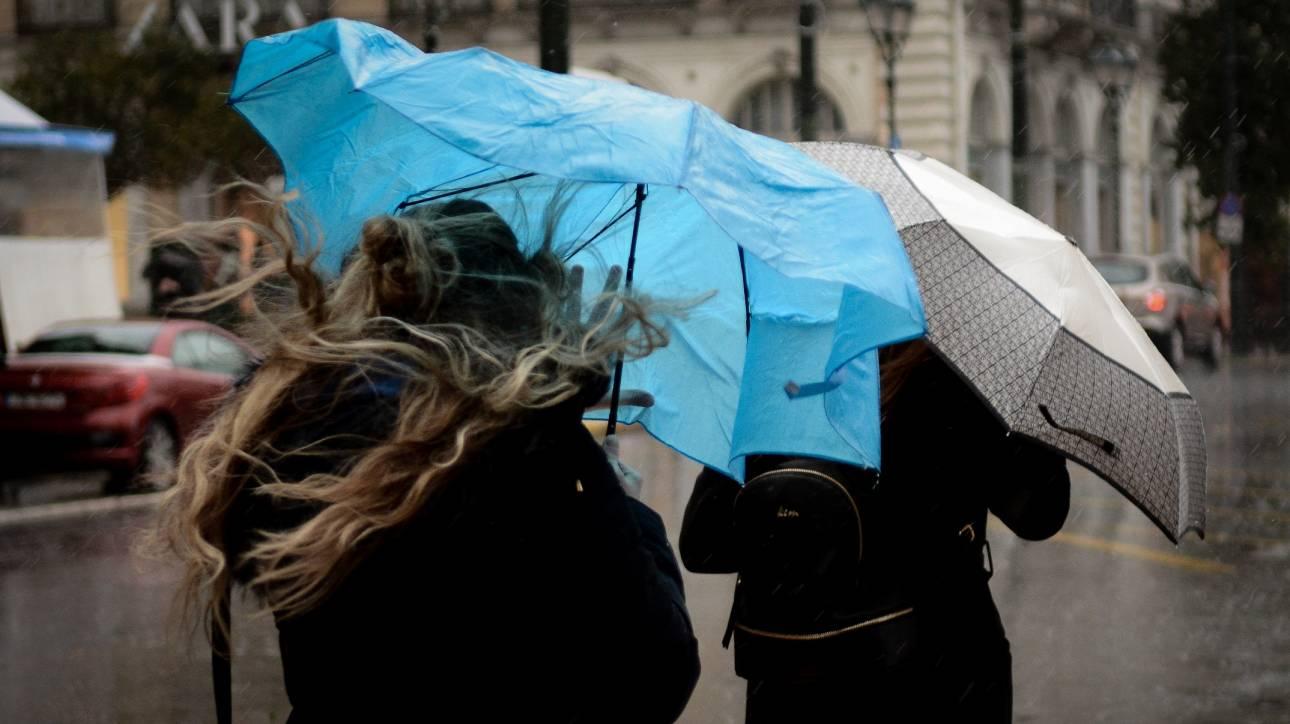 Έκτακτο δελτίο επιδείνωσης καιρού: Έρχονται χιόνια, βροχές και καταιγίδες