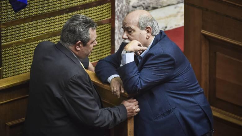 Καμμένος σε Βούτση: «Δεν είναι αναγκαία η γνωμοδότηση της Επιτροπής Κανονισμού της Βουλής»