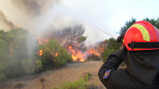 Πύργος: Σε ύφεση η φωτιά στον Καϊάφα