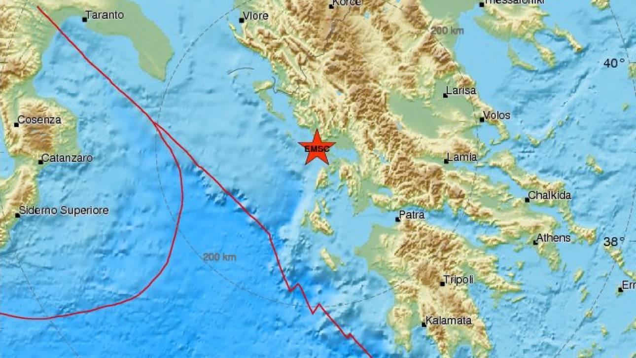 Ισχυρός σεισμός κοντά στην Πρέβεζα - Αισθητός σε πολλές περιοχές