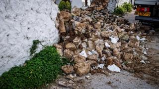 Σεισμός Πρέβεζα: Εικόνες από το «χτύπημα» του Εγκέλαδου
