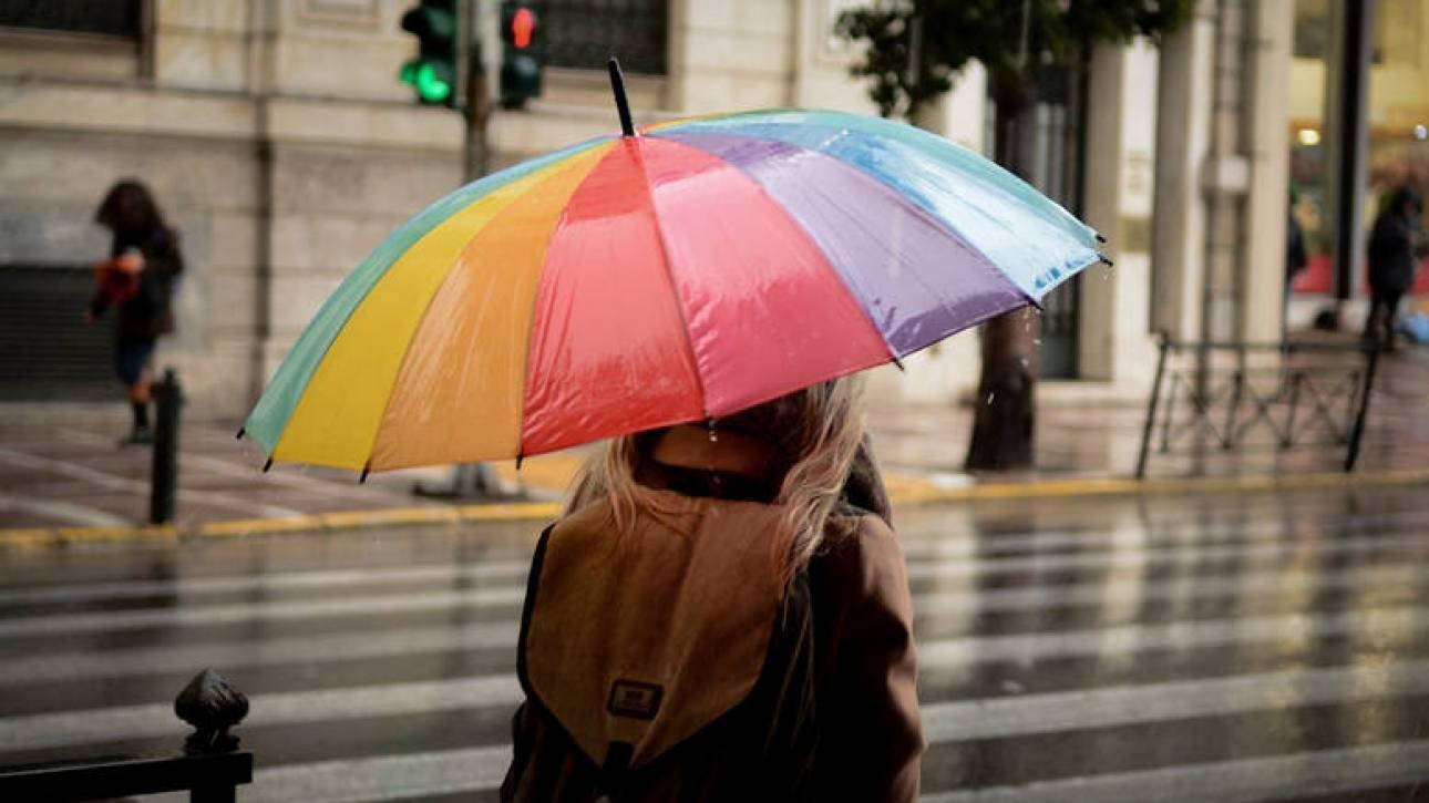 Καιρός: Καταιγίδες, χιονοπτώσεις και σκόνη την Τετάρτη