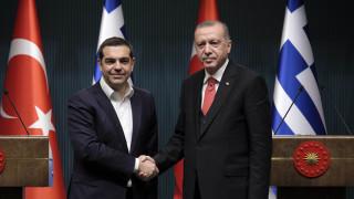 Μελιτζανοσαλάτα και μπακλαβά με φιστίκι: Τι έφαγαν Τσίπρας-Ερντογάν στο Λευκό Παλάτι