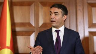Ντιμιτρόφ: «Μπορούν να συνυπάρχουν διαφορετικές ταυτότητες στη Βόρεια και την ελληνική Μακεδονία»