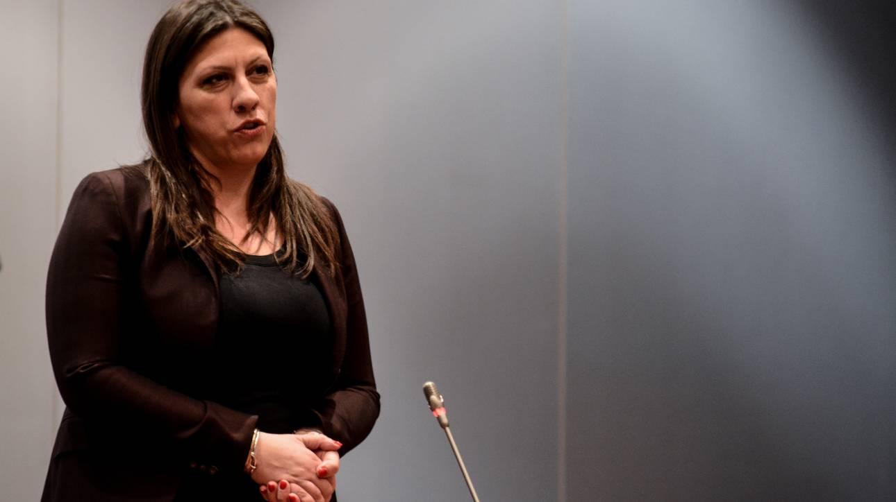 Κωνσταντοπούλου: Επικίνδυνη και ασυνάρτητη εξωτερική πολιτική του Τσίπρα