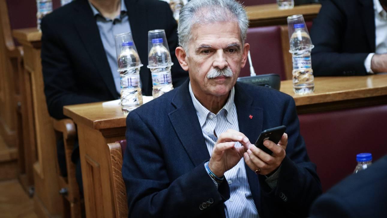 «Έφυγα από το Ποτάμι λόγω ΝΔ, δεν προσχωρώ στον ΣΥΡΙΖΑ γιατί έχουμε διαφορές» υποστηρίζει ο Δανέλλης