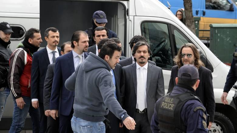 Επικήρυξη των «8»: Τα βήματα που εξετάζει ο δικηγόρος των Τούρκων στρατιωτικών