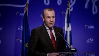 Βέμπερ: «Χρειαζόμαστε μια νέα κυβέρνηση στην Ελλάδα»