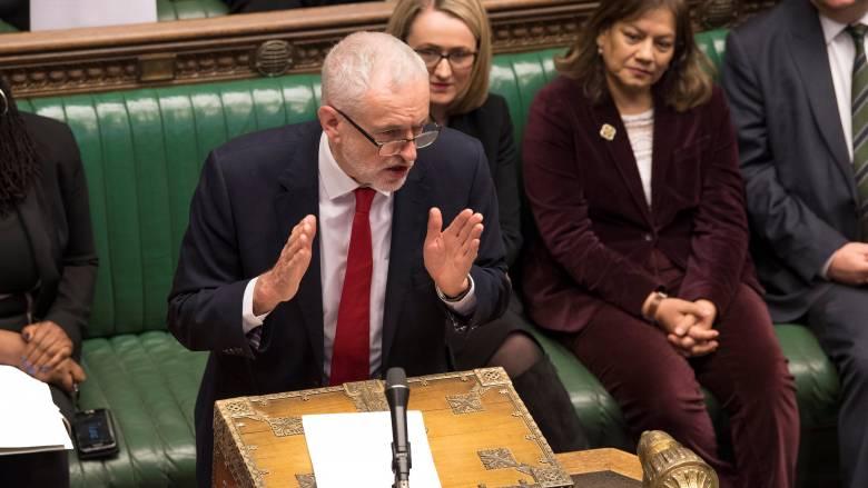 Βρετανία: Επιστολή Κόρμπιν στη Μέι με όρους «διευκόλυνσης» για το Brexit