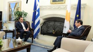 Επικοινωνία Τσίπρα – Αναστασιάδη μετά τις επαφές στην Τουρκία