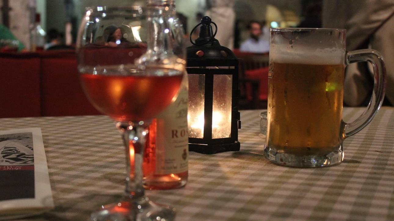 Μπίρα πριν από το κρασί ή κρασί πριν από τη μπίρα; - Λύθηκε το δίλημμα
