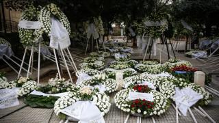 Κηδεία Περικλή Παναγόπουλου: Θλίψη στο τελευταίο «αντίο» στον εφοπλιστή