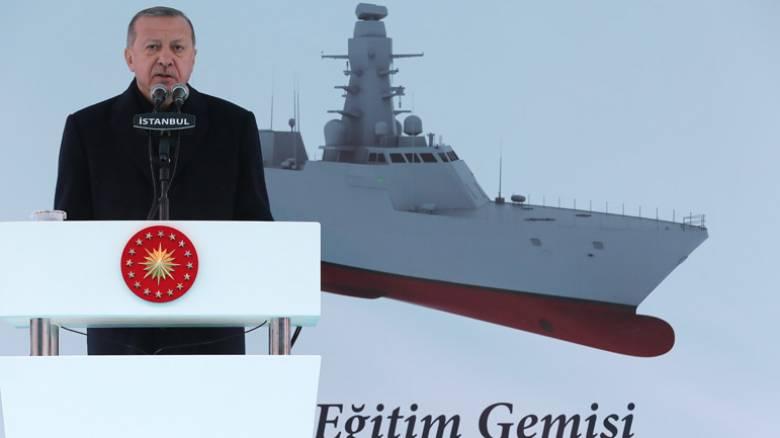 Ερντογάν: «Ενισχύουμε την άμυνα λόγω απειλών» - Ο νέος του «κατάσκοπος» σε Αιγαίο και Μεσόγειο