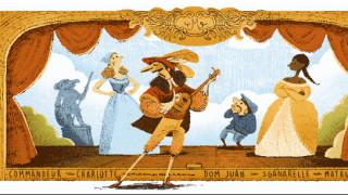 Μολιέρος: H Google τιμά με Doodle το «δάσκαλο» της κωμωδίας
