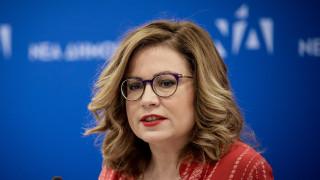 Σπυράκη: Ο Μπογδάνος δεν θα είναι υποψήφιος της ΝΔ