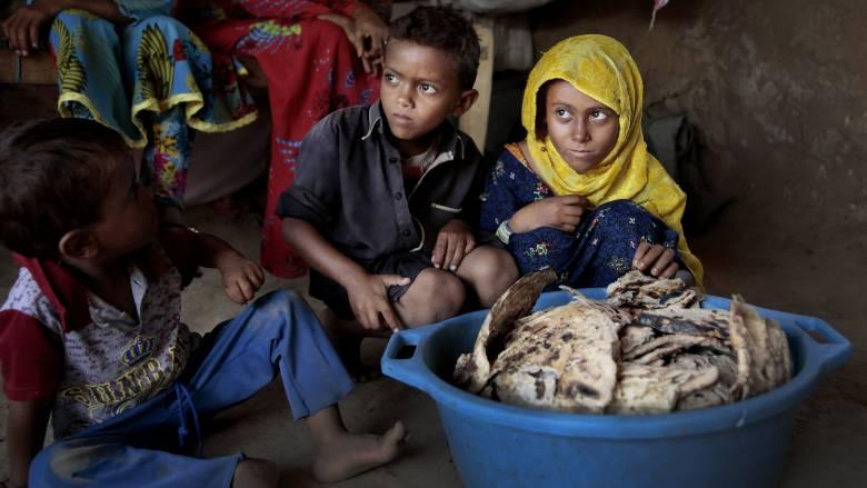 ΟΗΕ για Υεμένη: Τα σιτηρά στις αποθήκες κοντεύουν να σαπίσουν ενώ χιλιάδες παιδιά λιμοκτονούν