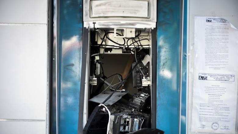Θεσσαλονίκη: Εμπρησμός σε μηχάνημα ΑΤΜ