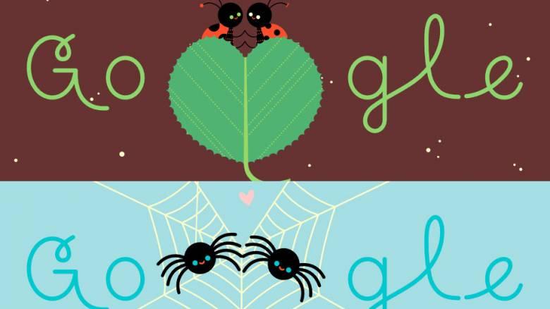 Ημέρα του Αγίου Βαλεντίνου: H Google τιμάει τη γιορτή των ερωτευμένων