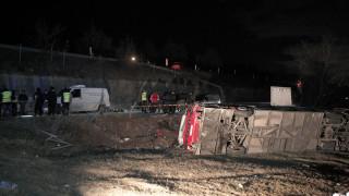 Σκόπια: Στους 14 οι νεκροί από την ανατροπή του λεωφορείου