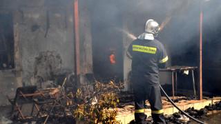 Λαμία: Σπίτι ηλικιωμένης πήρε φωτιά από κινητό τηλέφωνο