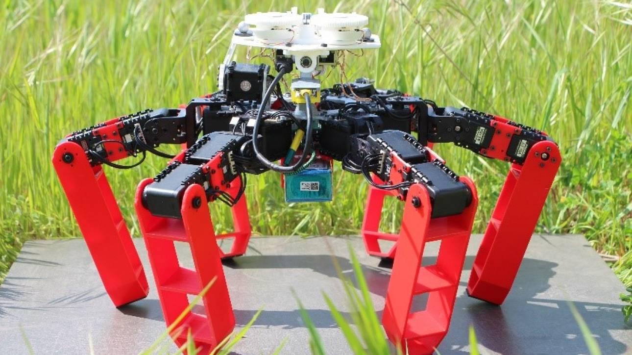 Αυτό είναι το πρώτο ρομπότ που κινείται χωρίς GPS αλλά με ουράνια πυξίδα