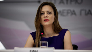 Αχτσιόγλου: Σε εφαρμογή η επιδότηση ασφαλιστικών εισφορών για μισθωτούς έως 25 ετών