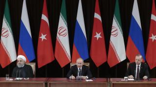 Πούτιν – Ερντογάν – Ροχανί: Μόνο καλό μπορεί να κάνει η αποχώρηση των ΗΠΑ από τη Συρία