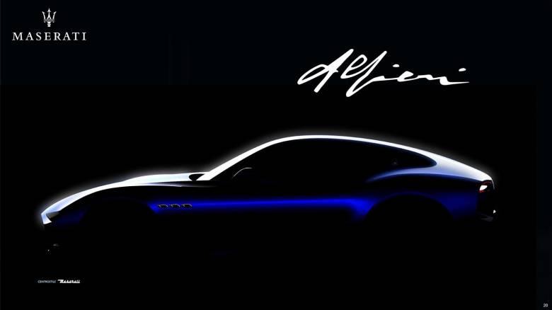 Θα μπορέσει η Alfieri, που θα έχει μέχρι και ηλεκτρική έκδοση, να σώσει τη Maserati;