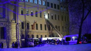 Κατέρρευσε τμήμα κτηρίου του πανεπιστημίου της Αγίας Πετρούπολης - Φόβοι για εγκλωβισμένους