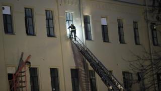 Αγία Πετρούπολη: Βίντεο από τη στιγμή της κατάρρευσης του πανεπιστημιακού κτηρίου
