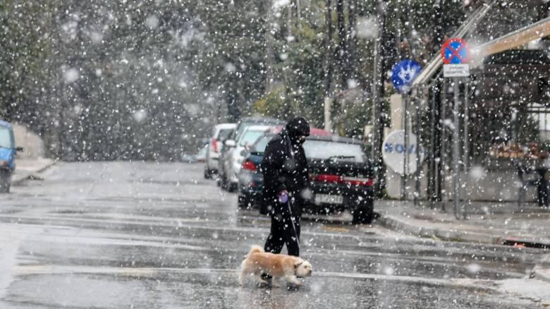 Καιρός: Προ των πυλών νέο κύμα κακοκαιρίας - Χιόνια μέχρι και στο κέντρο της Αθήνας