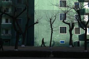 Η ΠΙονγιάνγκ τη νύχτα.