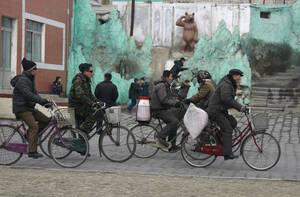 Τα ποδήλατα είναι τα πιο δημοφιλή μέσα μεταφοράς.