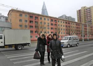 Γυναίκες στην ΠΙονγιάνγκ.