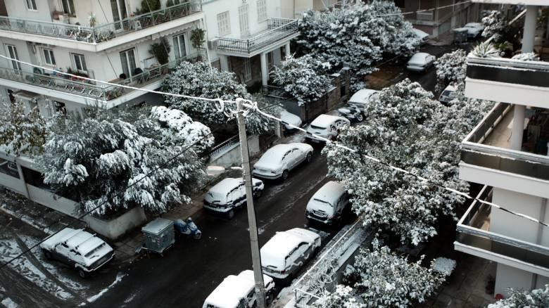 Καιρός: Έρχονται πολικές θερμοκρασίες - Χιόνια ακόμα και στο κέντρο της Αθήνας