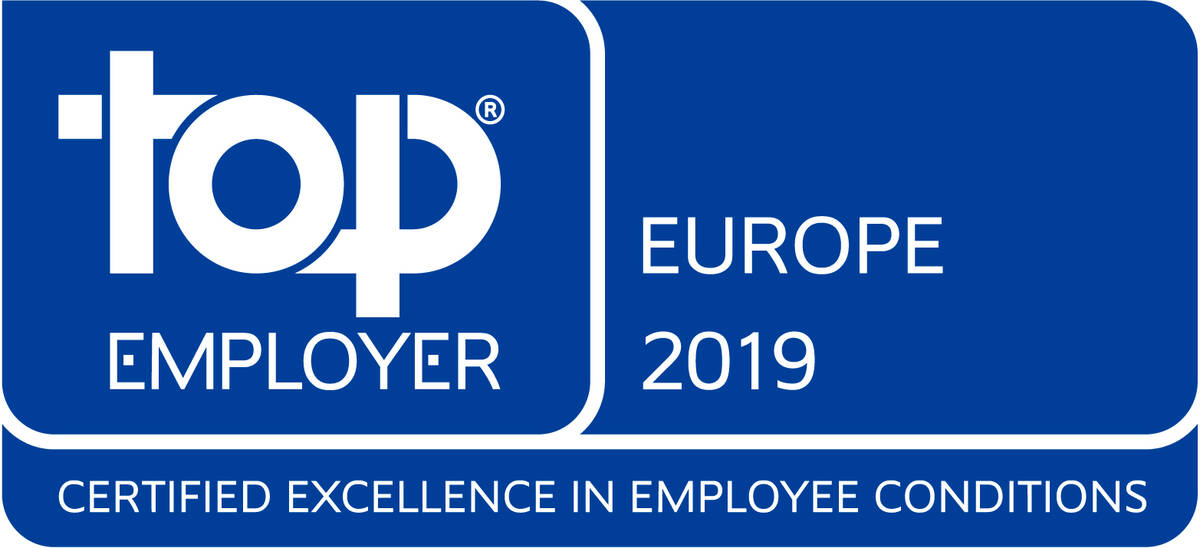 Top Employer Europe 2019
