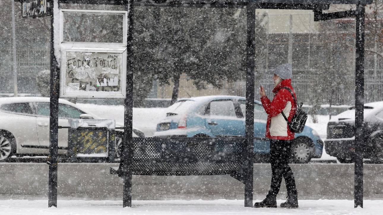 Καιρός: Βροχές, χιόνια και καταιγίδες την Παρασκευή