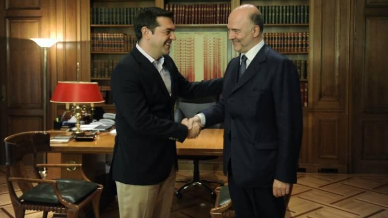 Νέα επίσκεψη Μοσκοβισί στην Ελλάδα