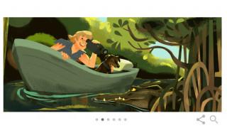 Στιβ Άιρβιν: H Google τιμά με doodle τον «Κροκοδειλάκια» (pics)